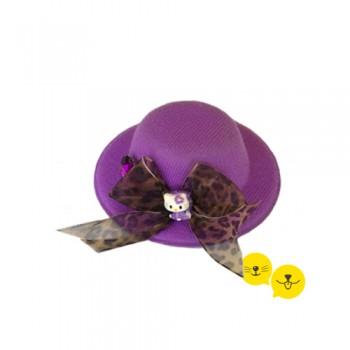 Mor KittyCat Pet Şapka
