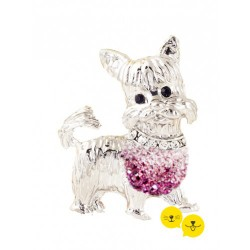Yorkshire Terrier Pink Jewel