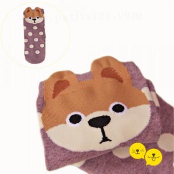 Pomeranian Soket Çorap