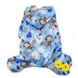 Mavi Monkey Yağmurluk