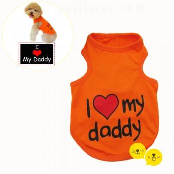 Love My Daddy Tişört