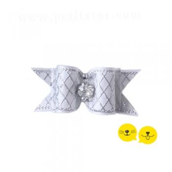 Beyaz Gümüş Royal Toka