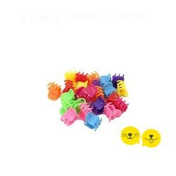 12'li Mini Renkli Kıskaç Tokalar
