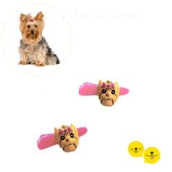 Yorkshire Terrier Pink Toka