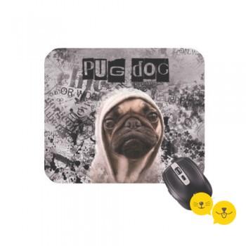 Pug Dog Mouse Ped