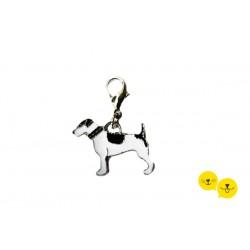 Jack Köpek Motif Tasma Süsü
